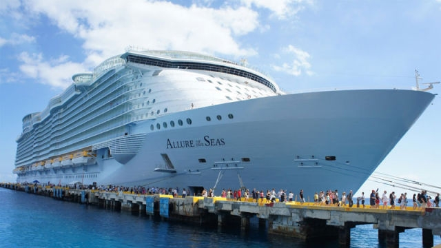 Dünyanın en büyük gemisinde çalışmak galerisi resim 1