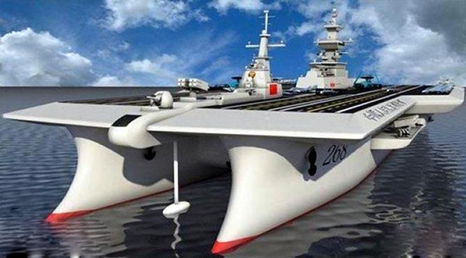 Çin'in yeni uçak gemi projesi şaşırttı galerisi resim 1
