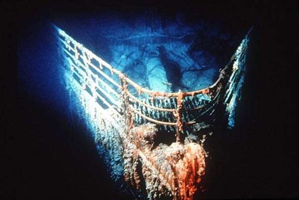 Titanic böyle bulundu galerisi resim 8