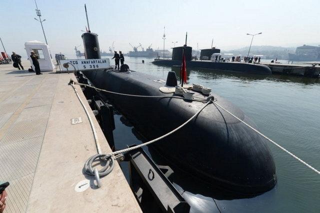 Türk donanmasının derinlerdeki gücü galerisi resim 1