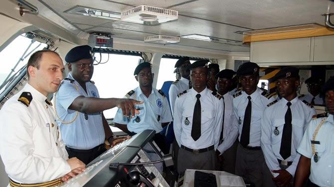 Barbaros Türk Deniz Görev Grubu Gabon'u ziyaret etti galerisi resim 11