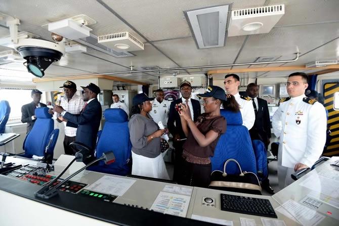 Barbaros Türk Deniz Görev Grubu Gabon'u ziyaret etti galerisi resim 8