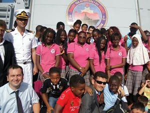 Barbaros Türk Deniz Görev Grubu Gabon'u ziyaret etti