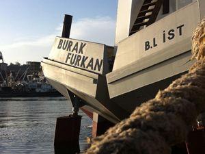 Burak Furkan, Bandırma'da denize indirildi