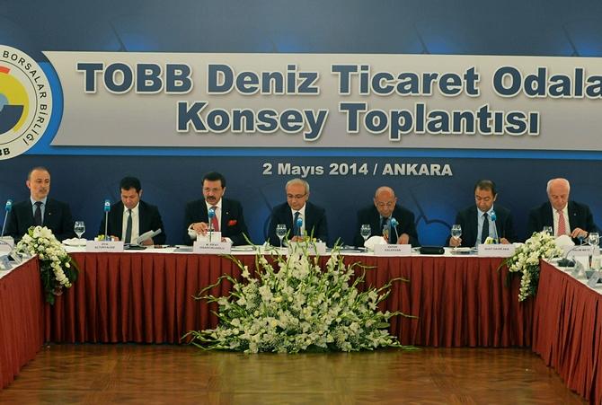 TOBB Deniz Ticaret Odaları Konsey Toplantısı'ndan kareler galerisi resim 1