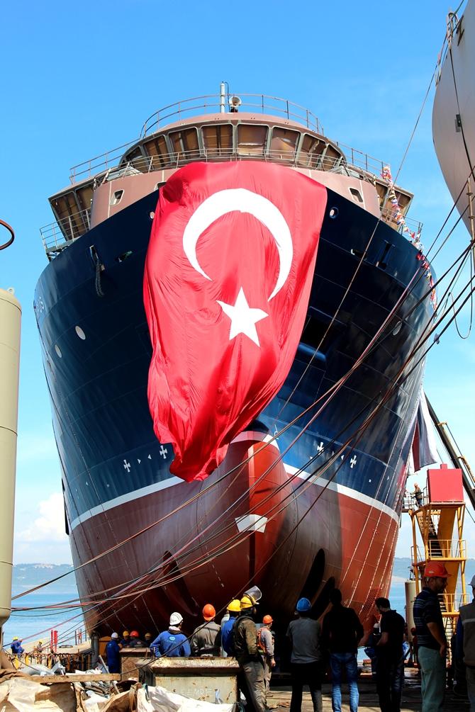 PSV Olympus denize indirildi! galerisi resim 1