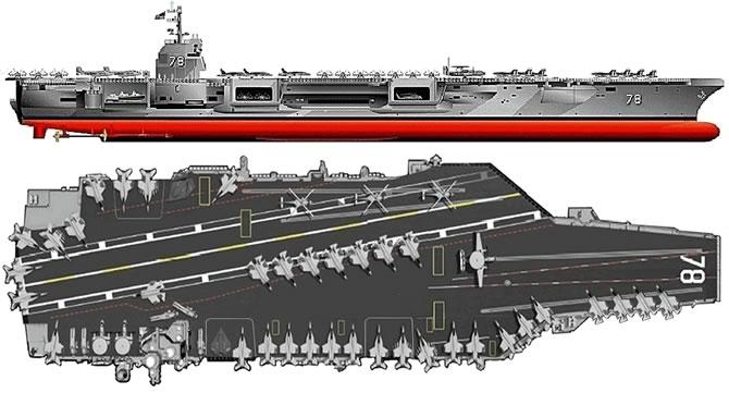Dünya'nın en pahalı uçak gemisi USS Gerald R. Ford galerisi resim 1