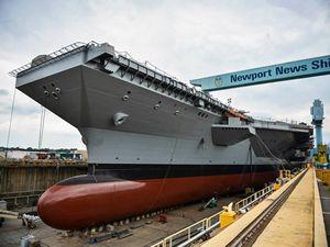 Dünya'nın en pahalı uçak gemisi USS Gerald R. Ford