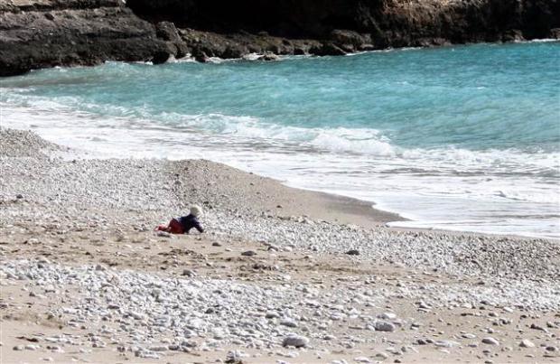Köpek denize giden bebeği böyle durdurdu galerisi resim 1