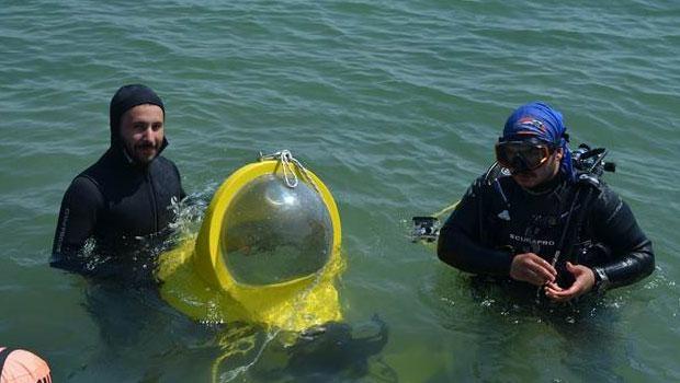 Tek kişilik denizaltı ürettiler galerisi resim 1