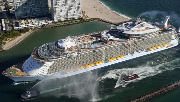 Dünyanın en büyük cruise gemileri galerisi resim 1