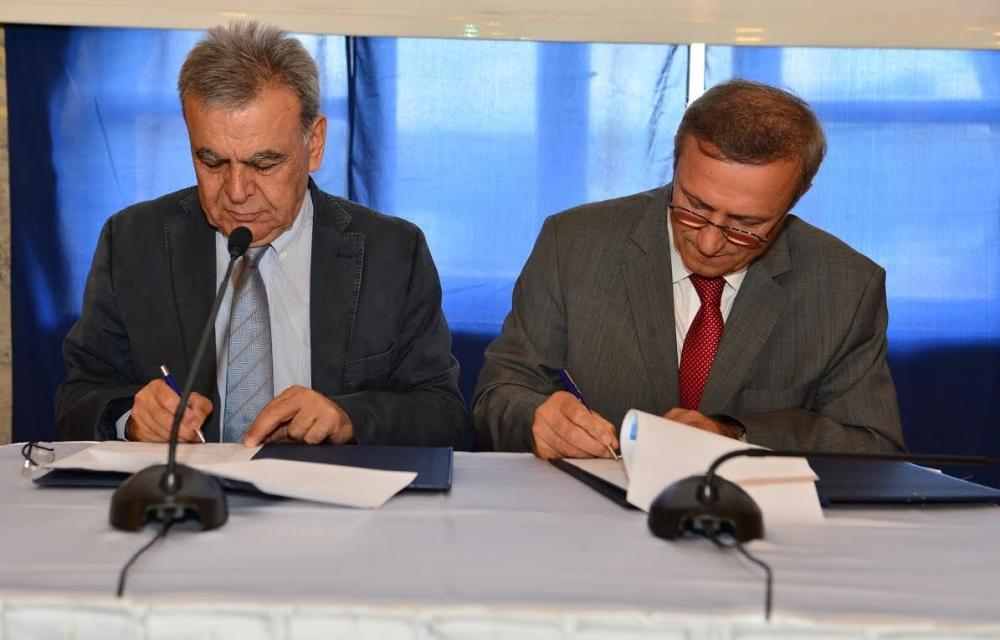 İzmir Büyükşehir Belediyesi arabalı vapur imza töreni galerisi resim 3