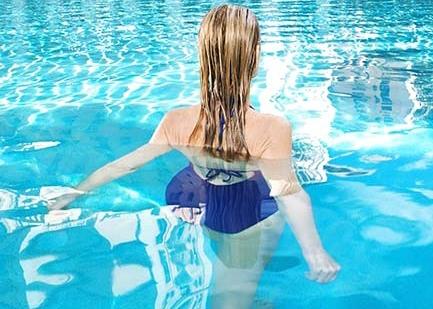 Suyun içinde yapılacak 10 egzersiz galerisi resim 9