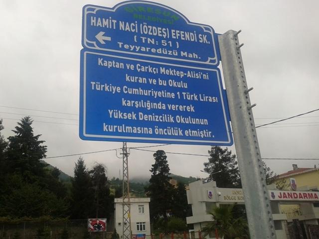 Giresun'da bir sokağa 'Hamit Naci' ismi verildi galerisi resim 6