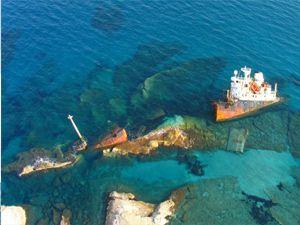En ürkütücü gemi enkazları