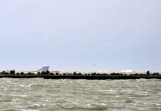 Türk bayraklı kuruyük gemisi M/V GOKBEL battı galerisi resim 1