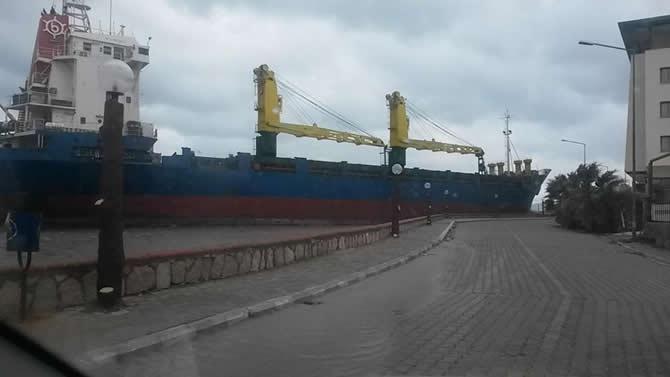 Gofer B isimli kuru yük gemisi sürüklendi galerisi resim 7