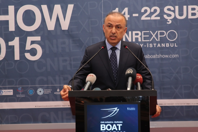 CNR Avrasya Boat Show açıldı galerisi resim 8