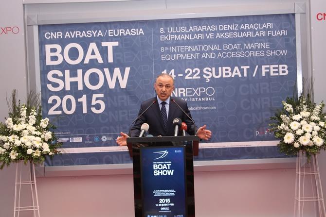 CNR Avrasya Boat Show açıldı galerisi resim 9