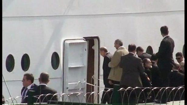 Cumhurbaşkanı Erdoğan Savarona yatı ile denize açıldı galerisi resim 1