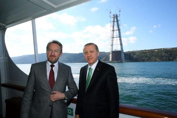 Cumhurbaşkanı Erdoğan Savarona yatı ile denize açıldı galerisi resim 10