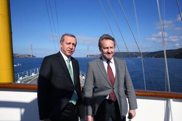 Cumhurbaşkanı Erdoğan Savarona yatı ile denize açıldı galerisi resim 11