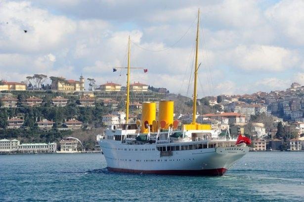 Cumhurbaşkanı Erdoğan Savarona yatı ile denize açıldı galerisi resim 16