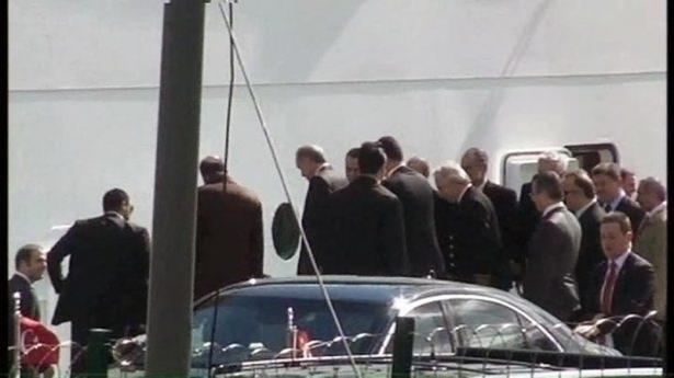 Cumhurbaşkanı Erdoğan Savarona yatı ile denize açıldı galerisi resim 2