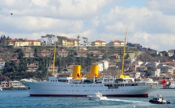 Cumhurbaşkanı Erdoğan Savarona yatı ile denize açıldı galerisi resim 24