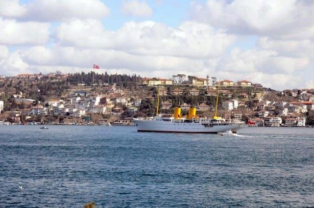 Cumhurbaşkanı Erdoğan Savarona yatı ile denize açıldı galerisi resim 25