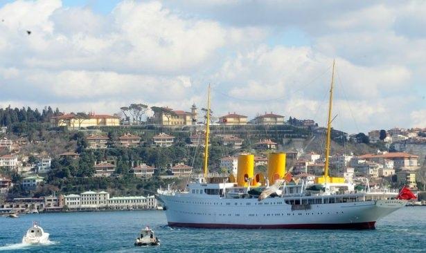 Cumhurbaşkanı Erdoğan Savarona yatı ile denize açıldı galerisi resim 26