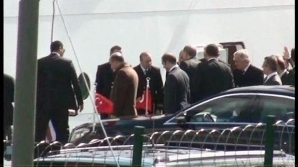 Cumhurbaşkanı Erdoğan Savarona yatı ile denize açıldı galerisi resim 3