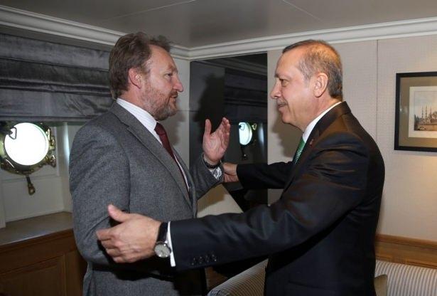 Cumhurbaşkanı Erdoğan Savarona yatı ile denize açıldı galerisi resim 5