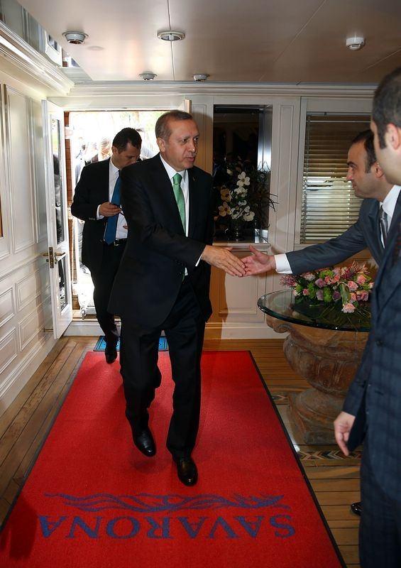 Cumhurbaşkanı Erdoğan Savarona yatı ile denize açıldı galerisi resim 6