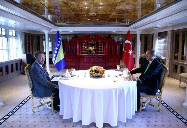 Cumhurbaşkanı Erdoğan Savarona yatı ile denize açıldı galerisi resim 7