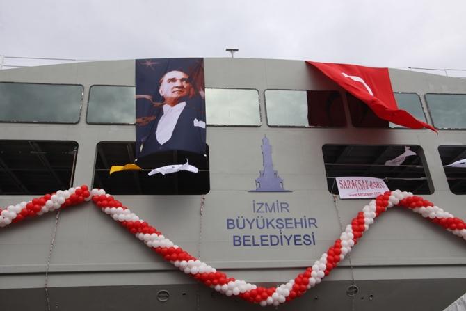 Çeksan Tersanesi 'Hasan Tahsin' feribotunu denize indirdi galerisi resim 27