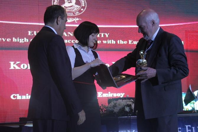 """""""Socrates Onur Ödülü"""" Kaptan Muhsin Emirsoy'a verildi galerisi resim 1"""