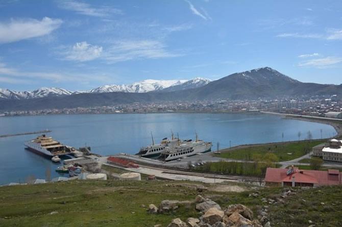 Türkiye'nin en büyük feribotu Van'da galerisi resim 2