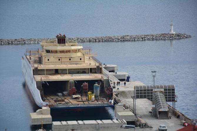 Türkiye'nin en büyük feribotu Van'da galerisi resim 3