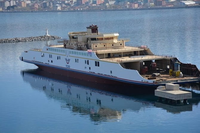 Türkiye'nin en büyük feribotu Van'da galerisi resim 5