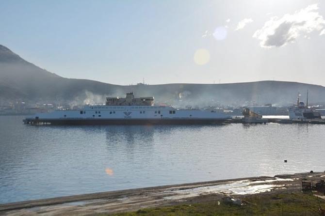 Türkiye'nin en büyük feribotu Van'da galerisi resim 6