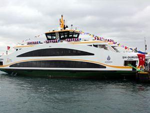 İstanbul Şehir Hatları yeni gemilerine kavuştu