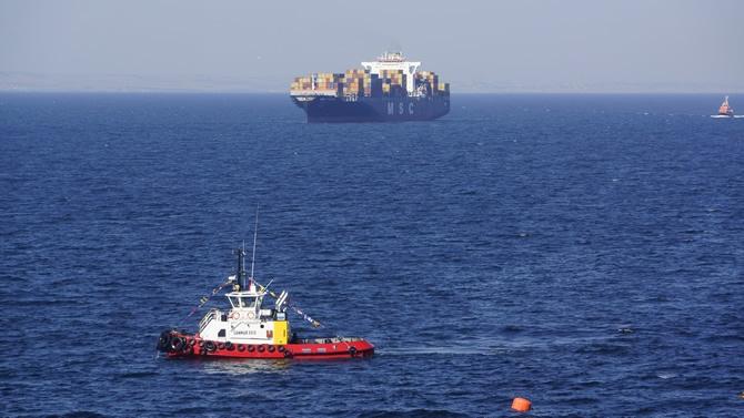 Asyaport'ta ilk gemi heyecanı galerisi resim 1