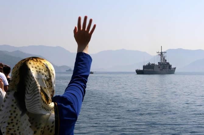 TCG Gemlik Fırkateyni deniz haydutlarıyla mücadele edecek galerisi resim 1