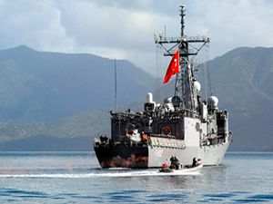 TCG Gemlik Fırkateyni deniz haydutlarıyla mücadele edecek