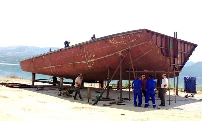 Yütek'ten Ermenek'e yolcu teknesi galerisi resim 1