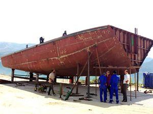 Yütek'ten Ermenek'e yolcu teknesi