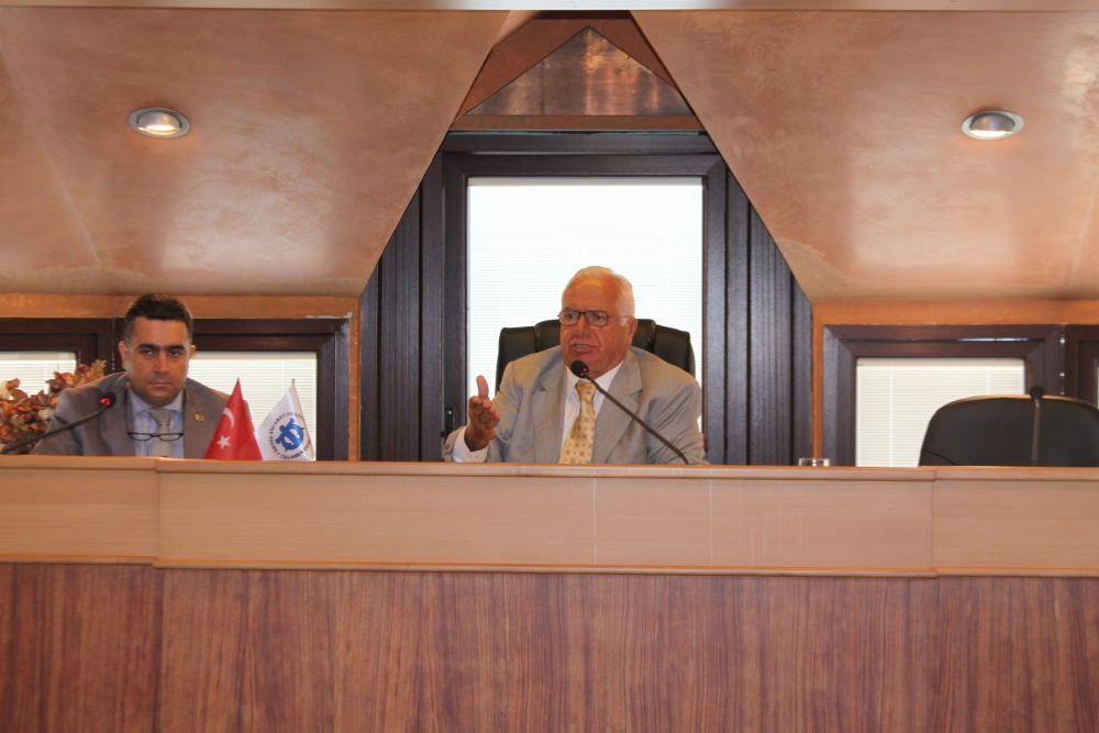 İMEAK DTO Eylül Ayı Olağan Meclis Toplantısı galerisi resim 1