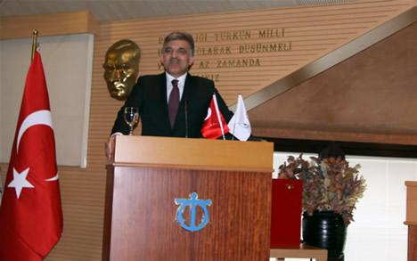 GÜL, DTO MECLİSİ'NE KATILDI galerisi resim 3