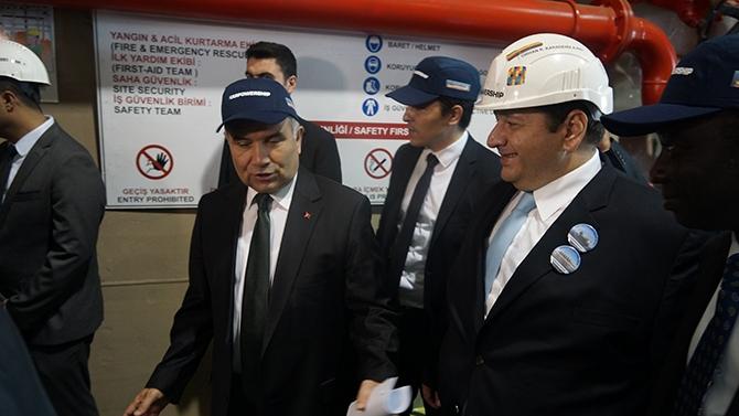 Karadeniz Holding'in yüzen santralleri uğurlandı galerisi resim 1